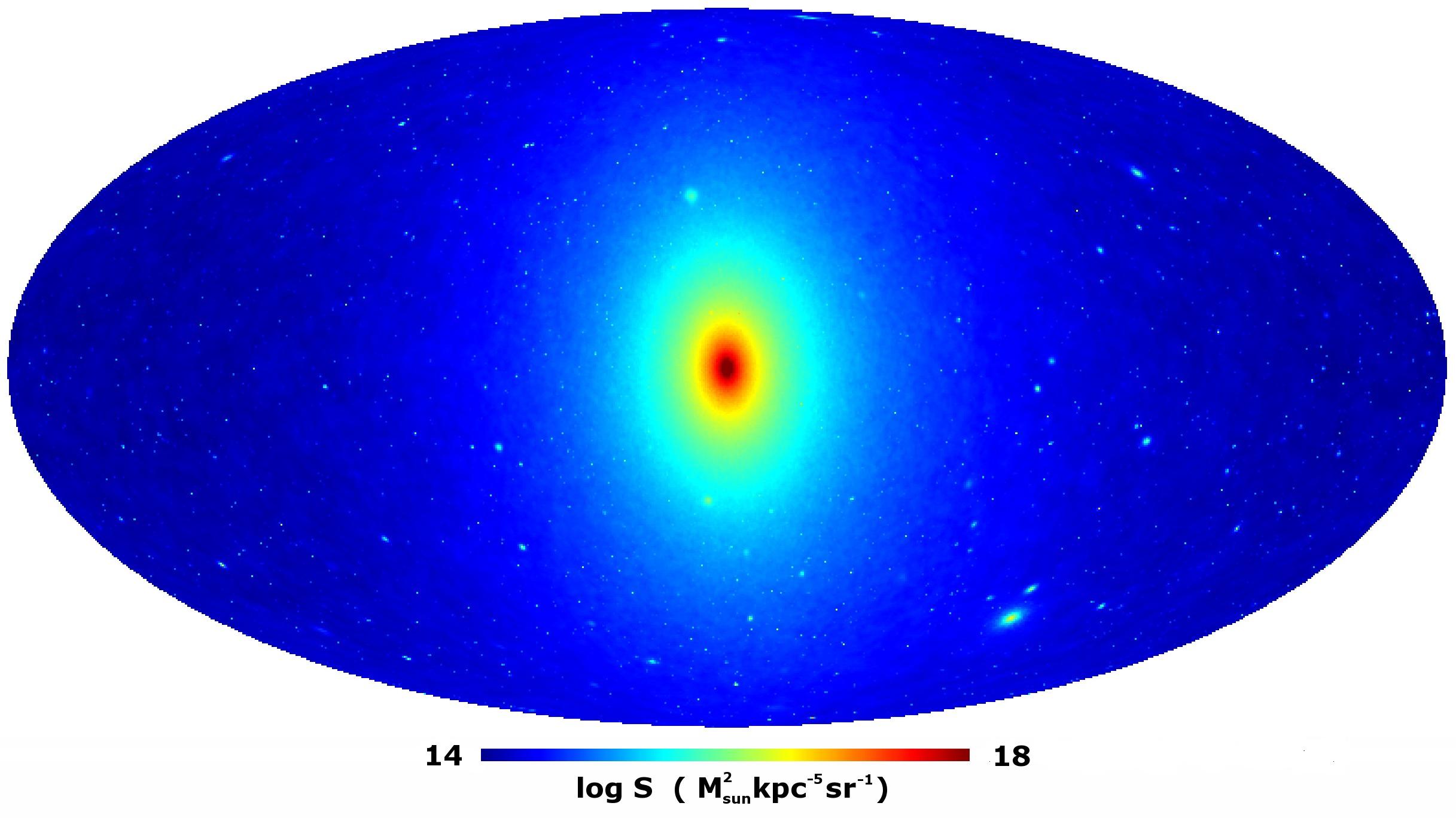 Dark Matter All-Sky Map - Cherenkov Telescope Array