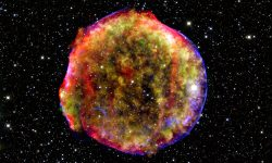 <strong>Tycho's Supernova Remnant</strong><br />Credit: Chandra X-Ray Observatory