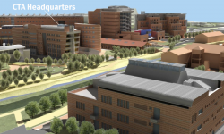 Computer rendering of CTA Headquarters Building, Bologna (Credit: Bologna University Project Office)