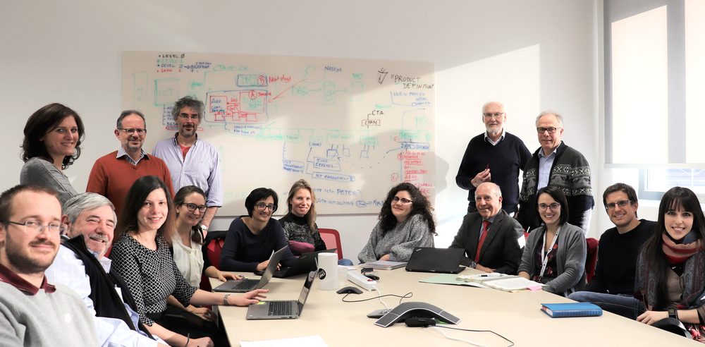 <strong></strong><br />CTAO staff at the new offices in Bologna.